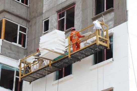 外墙保温材料施工